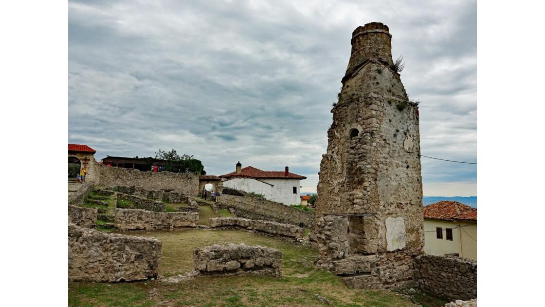 Albanie Kruja la citadelle 2