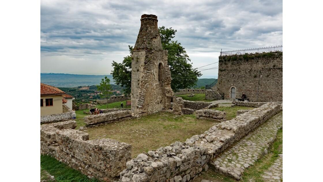Albanie Kruja la citadelle 3