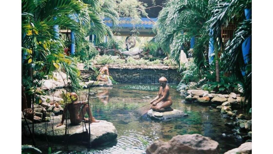 Les jardins de l'hôtel