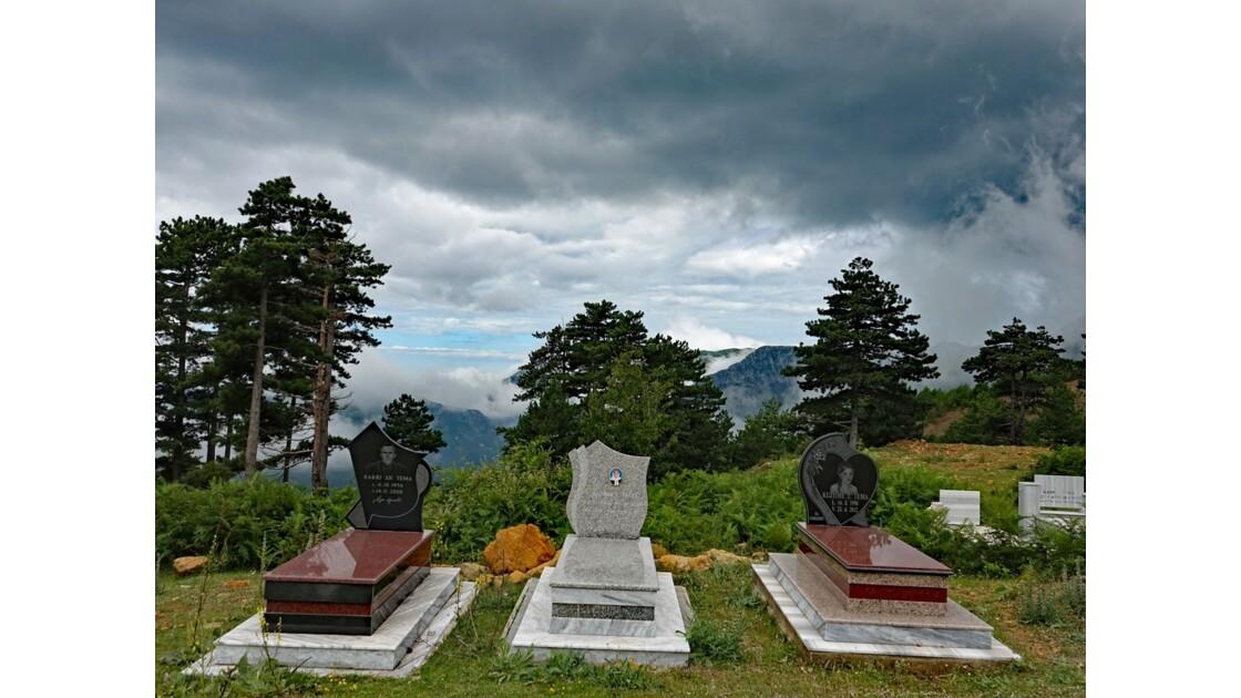 Albanie Cimetière Parc national Qafë-Shtamë 2