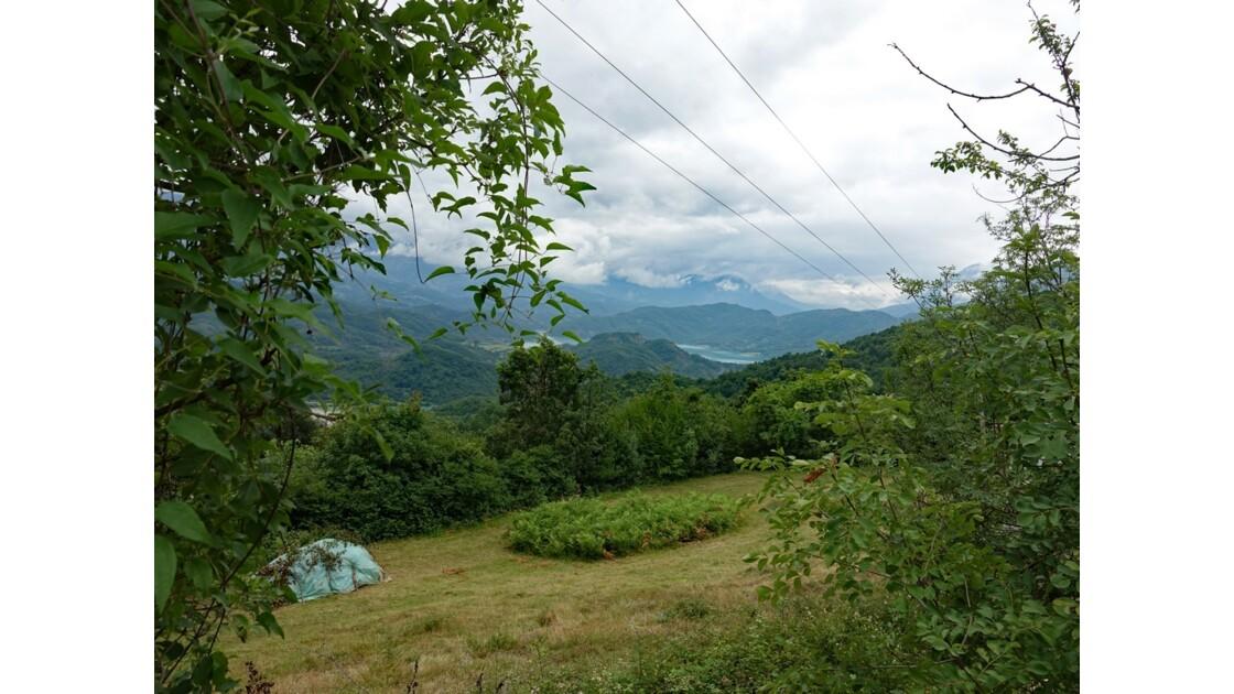 Albanie Parc national de Dajti Lac de Bovilla 3