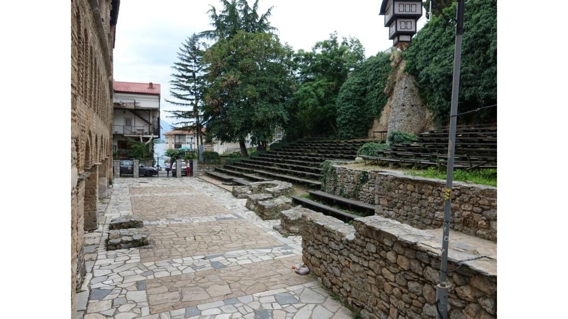 Macédoine Ohrid Cathédrale Sainte-Sophie Le théâtre