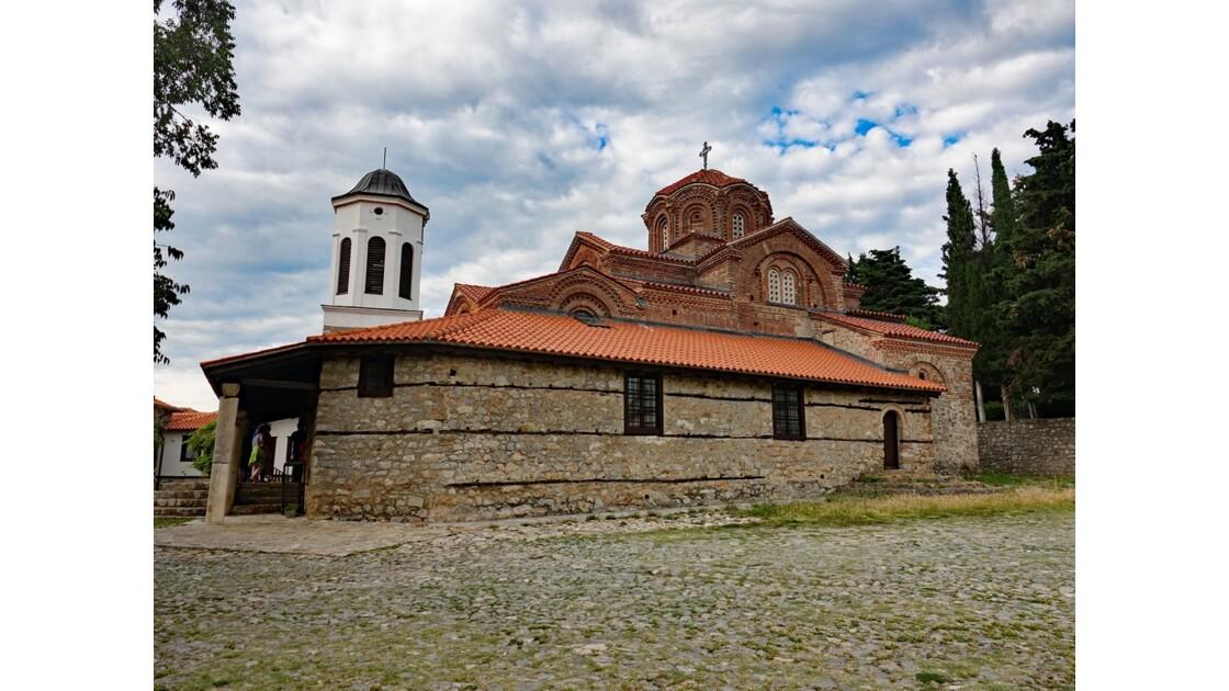 Macédoine Ohrid Église de Sveta Bogorodica Perivlepta 2