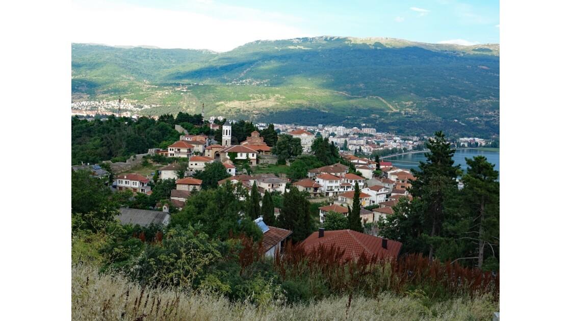 Macédoine Ohrid Vue de la Forteresse de Samuel 33