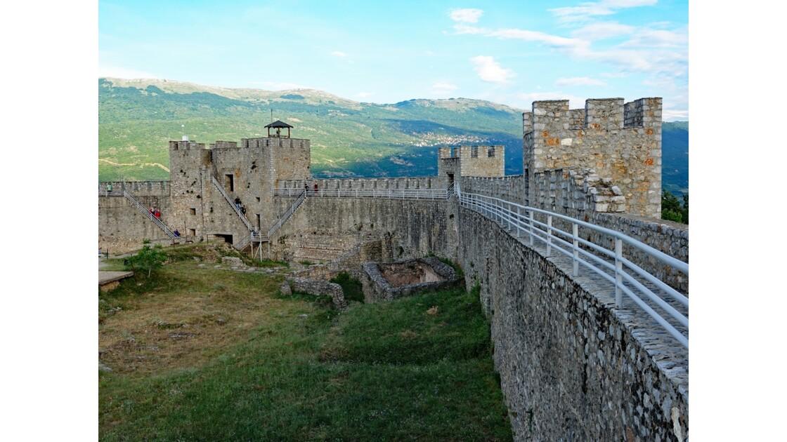 Macédoine Ohrid Forteresse de Samuel 1