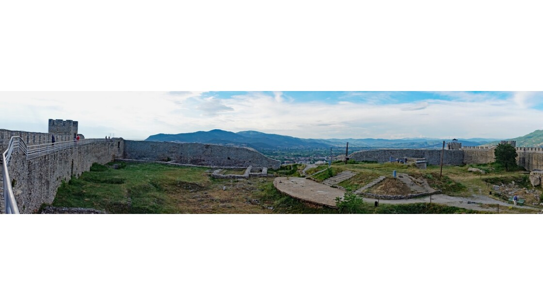 Macédoine Ohrid Forteresse de Samuel 2