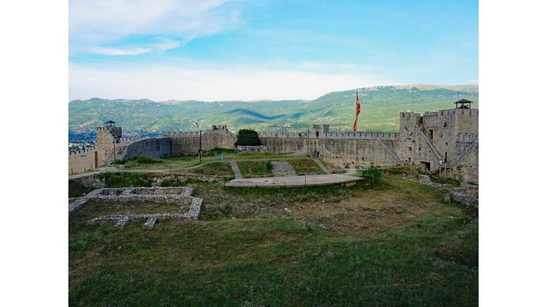 Macédoine Ohrid Forteresse de Samuel 3