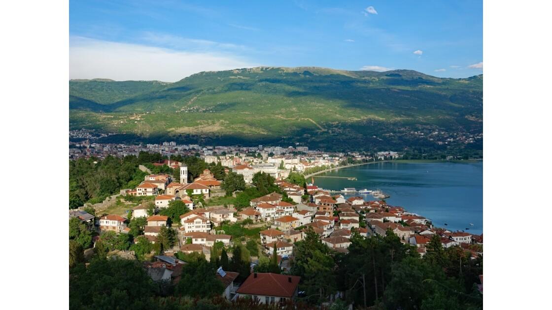 Macédoine Ohrid Vue de la Forteresse de Samuel 31