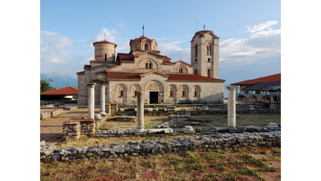 Macédoine Ohrid Monastère Saint-Panteleimon 1