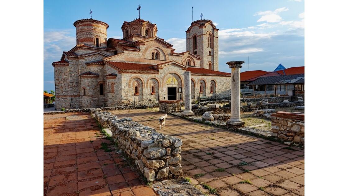 Macédoine Ohrid Monastère Saint-Panteleimon 2