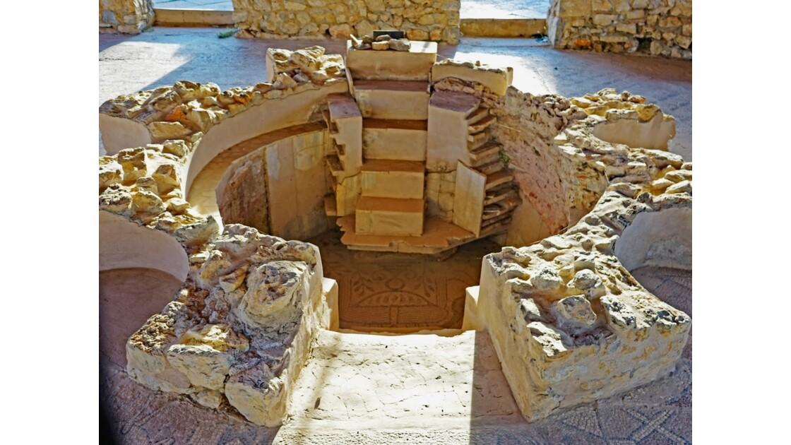 Macédoine Ohrid Mosaïques de Plaosnik 1