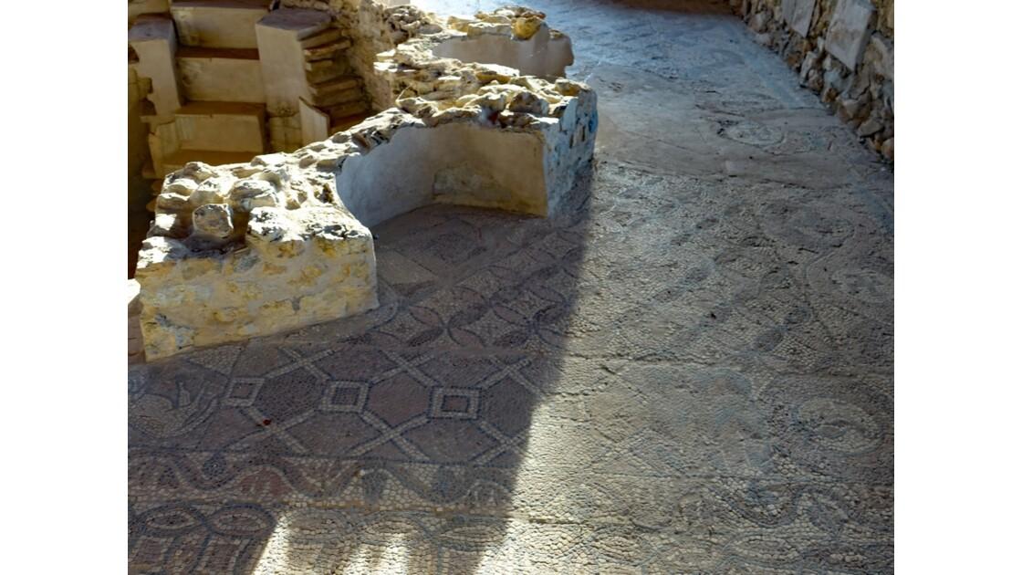 Macédoine Ohrid Mosaïques de Plaosnik 4