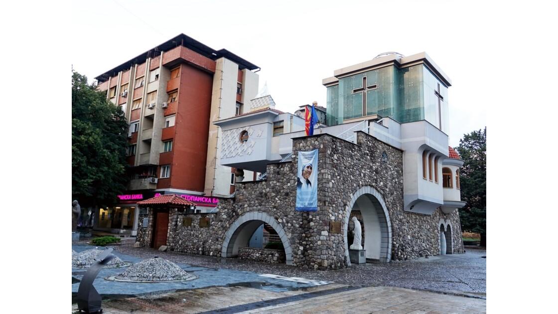 Macédoine Skopje Maison commémorative de Mère Teresa 1