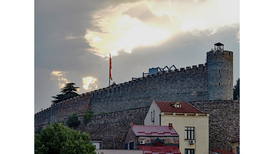 Macédoine Skopje Forteresse (Kale) 3