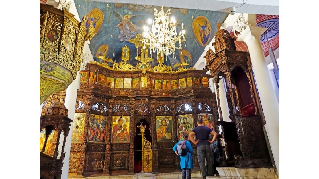 Macédoine Skopje Église Saint-Sauveur Iconostase 1