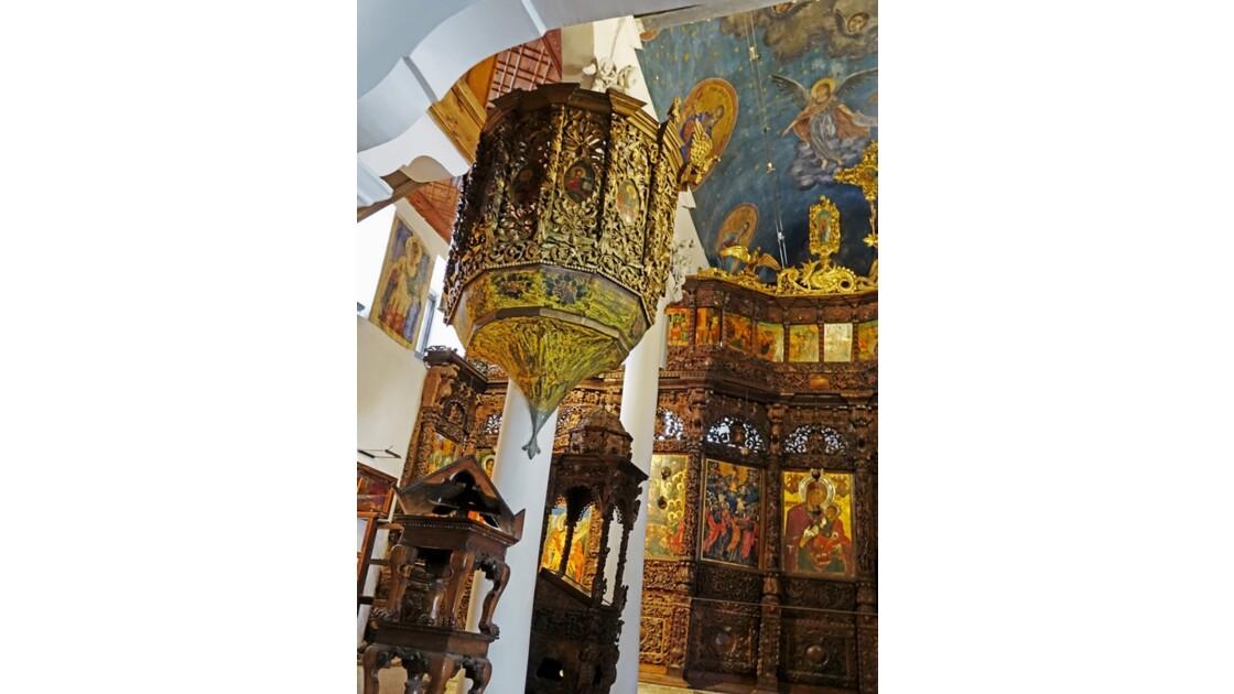 Macédoine Skopje Église Saint-Sauveur Iconostase 2