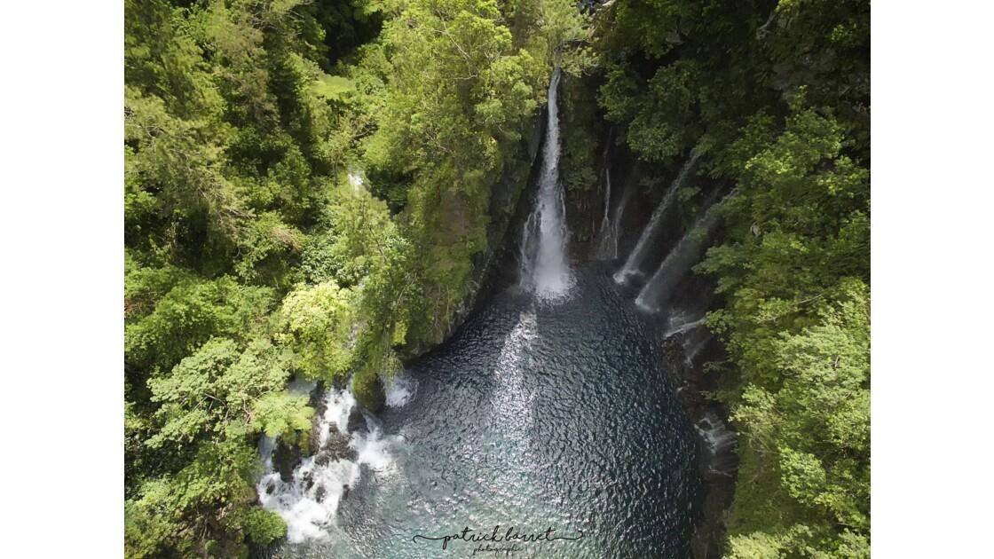 Cascade de Trou Noir – Drone – Saint Joseph – Île de la Réunion
