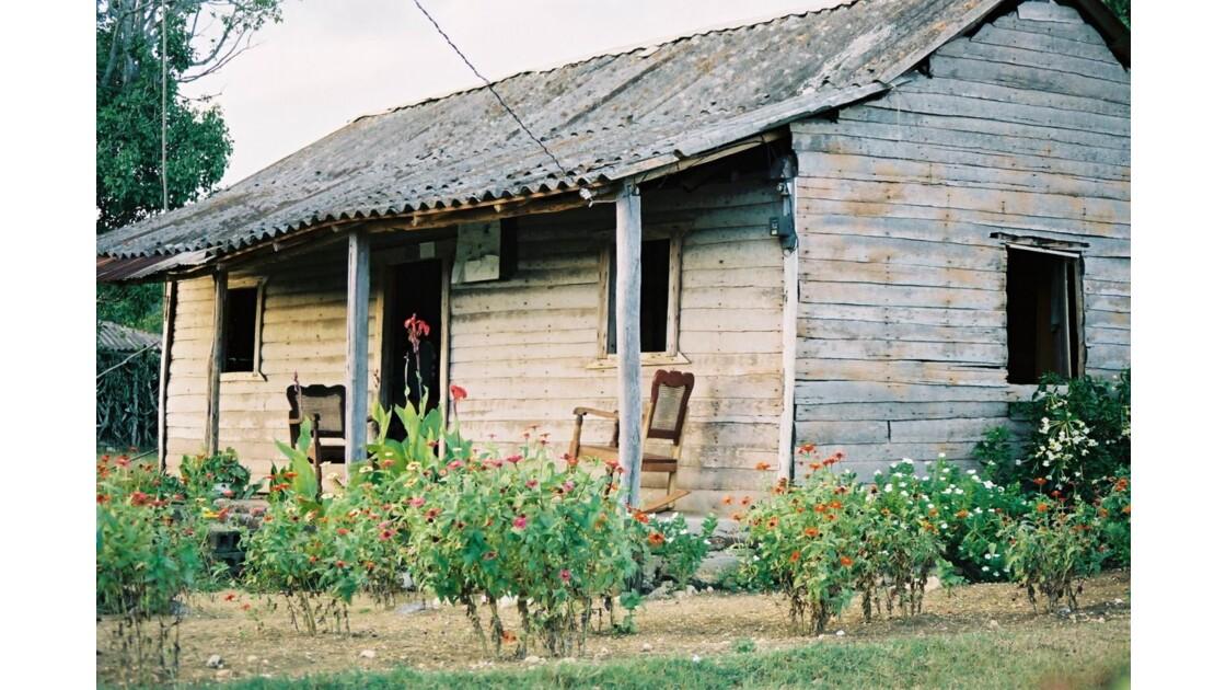 Cabane à Cuba