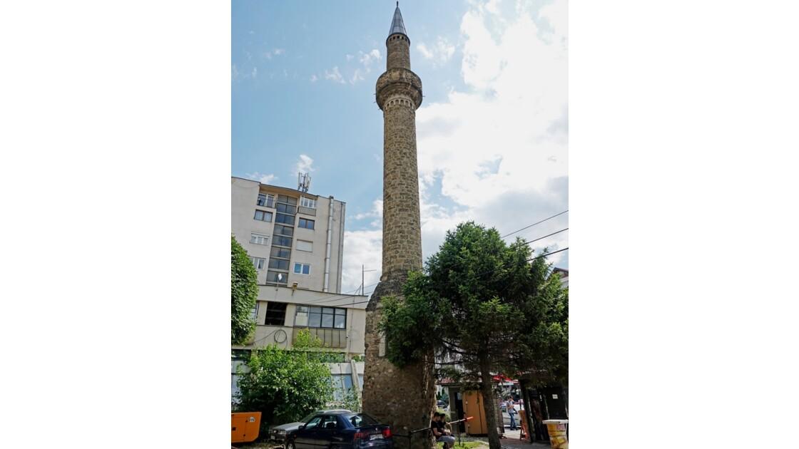 Kosovo Prizren Minaret de la mosquée Arasta1
