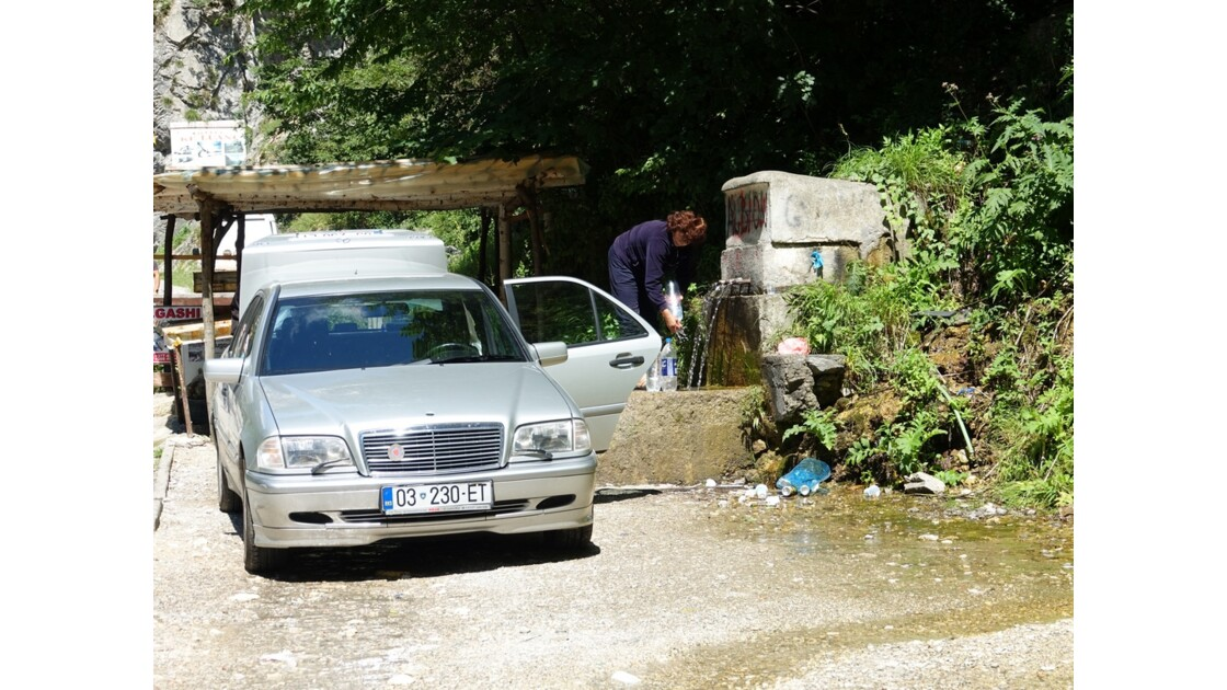 Kosovo Canyon de Rugova - A la source 1