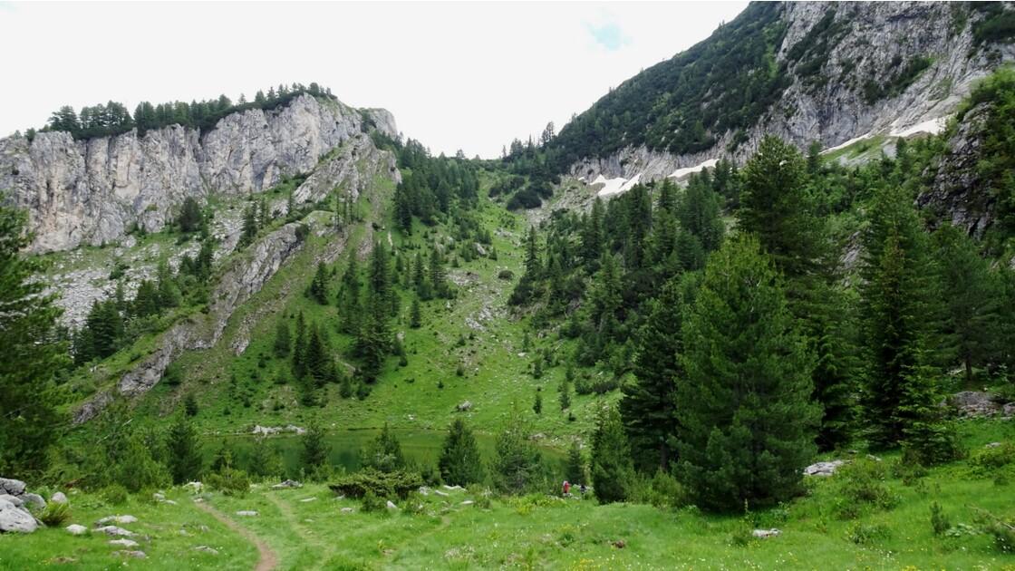 Kosovo Montagne de Rugova Lac de Kuqishte 4
