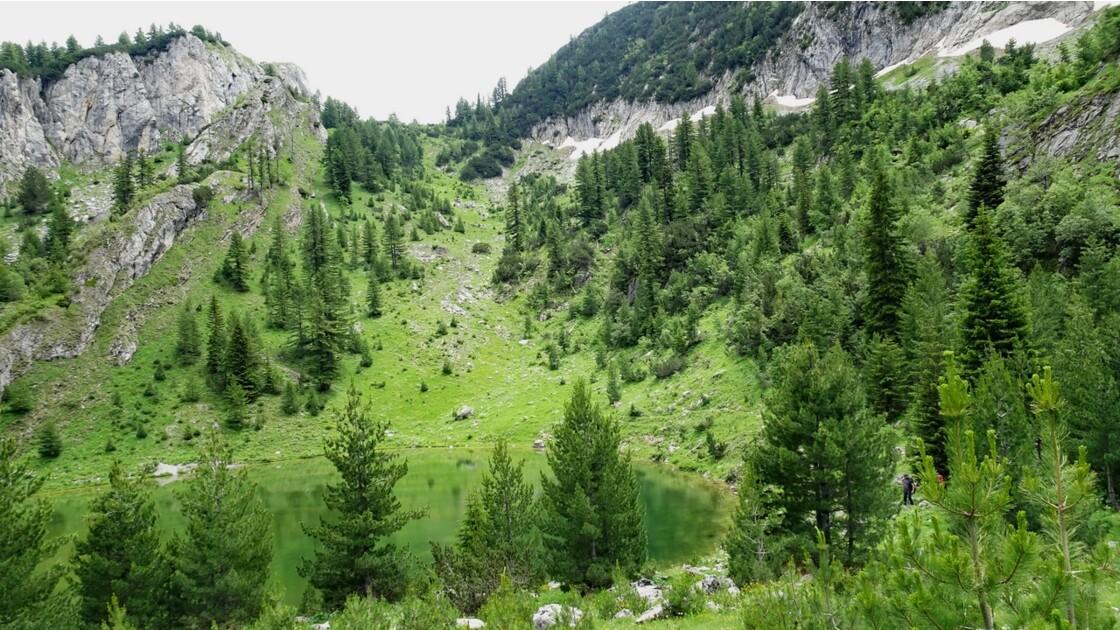 Kosovo Montagne de Rugova Lac de Kuqishte