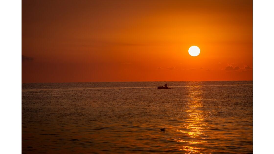 Lever de soleil sur Bisceglie