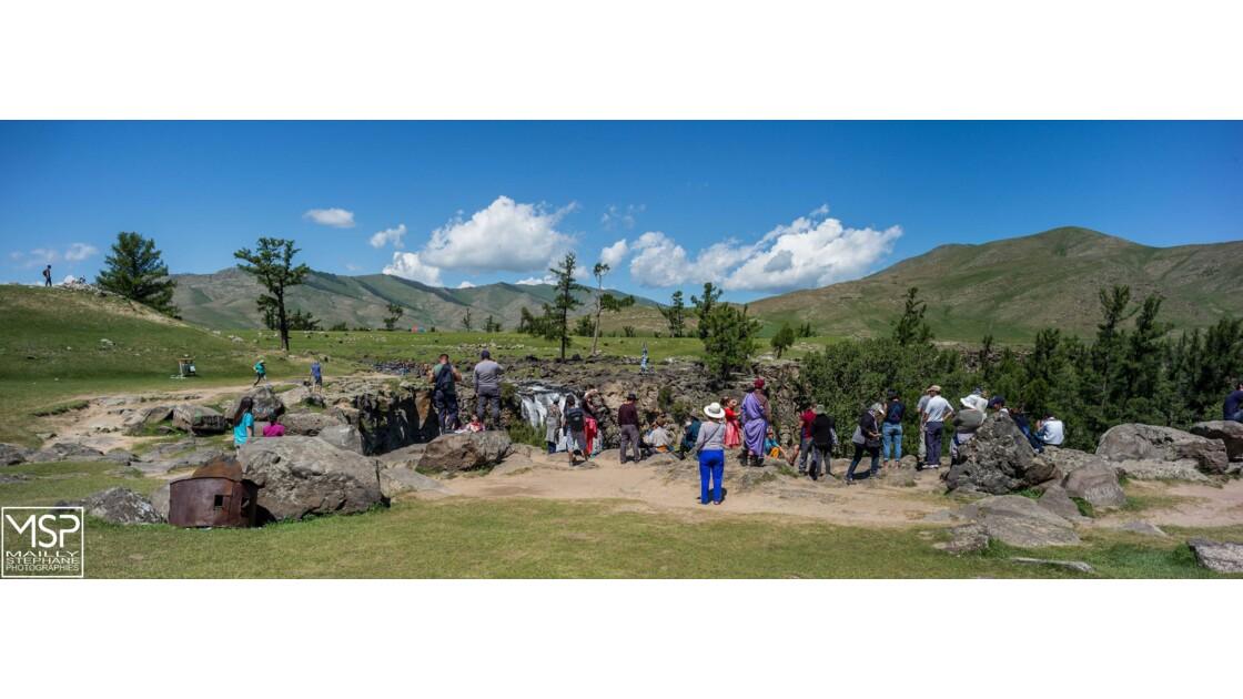 Mongolie - La chute d'eau d'Ulaan Tsutgalan