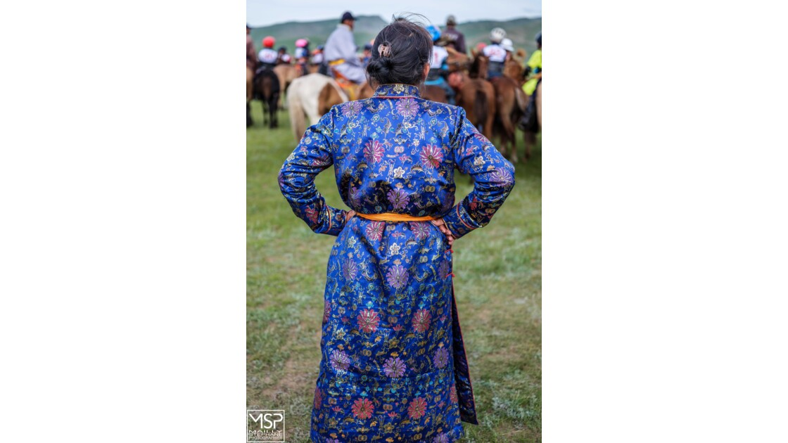 Mongolie - Le mini naadam