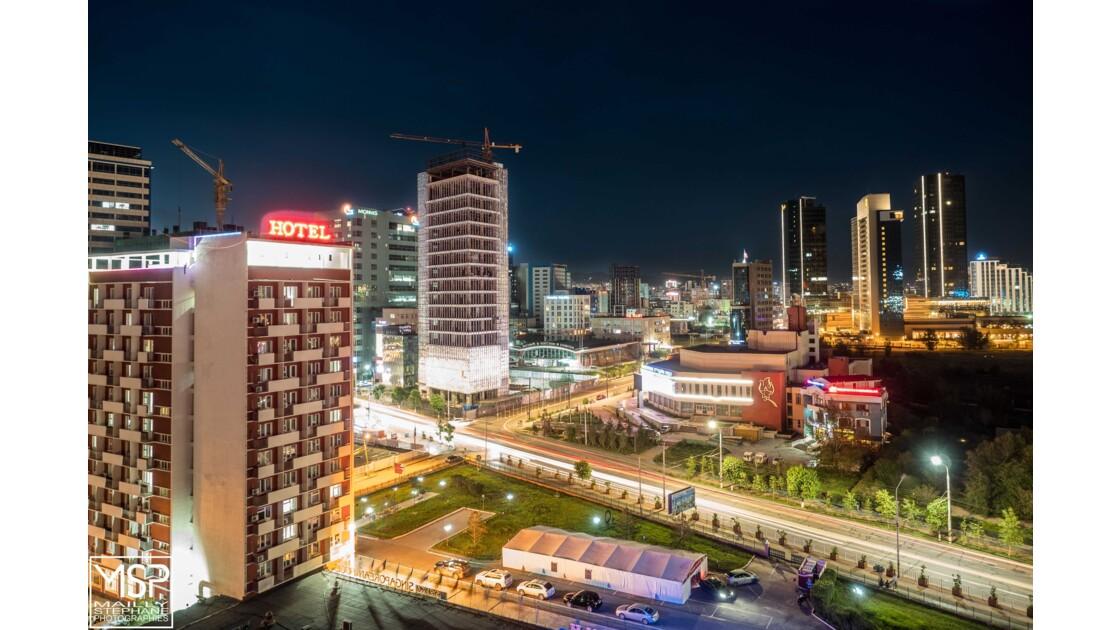 Mongolie - Oulan Bator by night