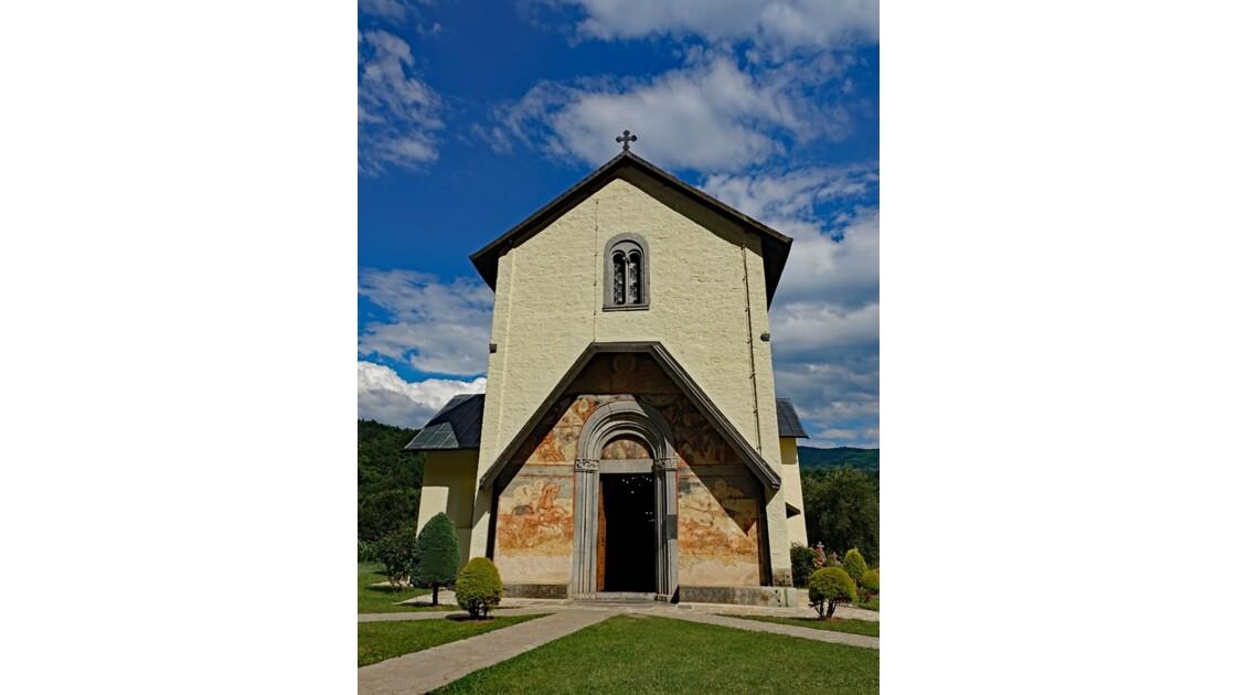 Monténégro Monastère de Moraca Eglise de l'Assomption de la Vierge 2