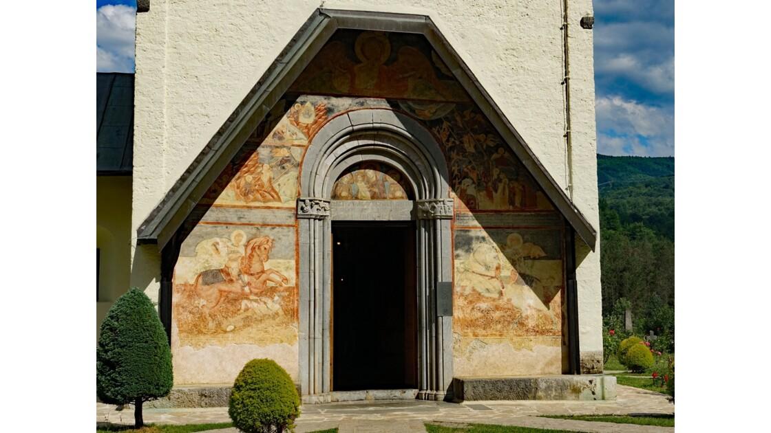 Monténégro Monastère de Moraca Eglise de l'Assomption de la Vierge 3