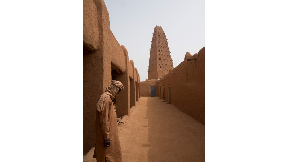 La Mosquée d'Agadez, Niger