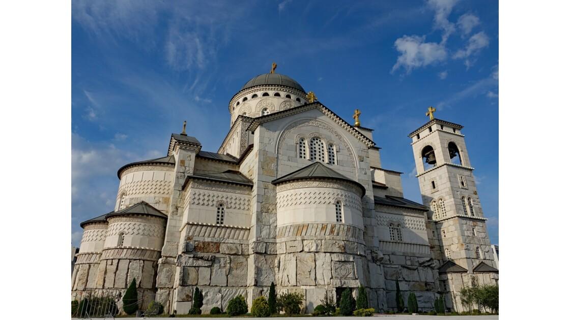 Kosovo Podgorica Cathédrale de la Résurrection du Christ 3