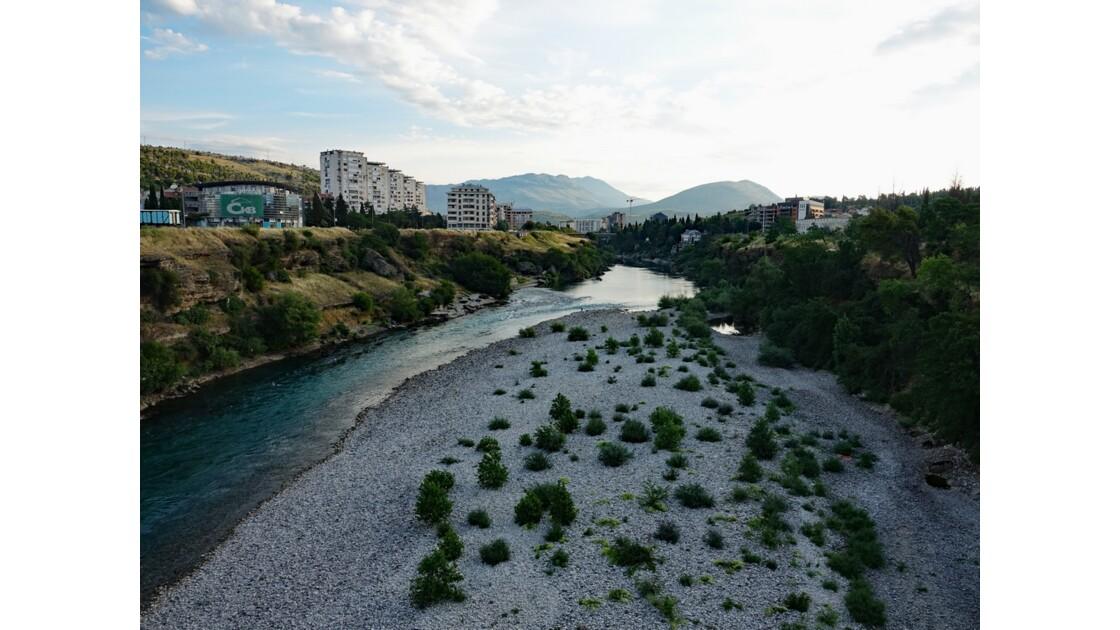 Kosovo Podgorica La rivière Moraca 1