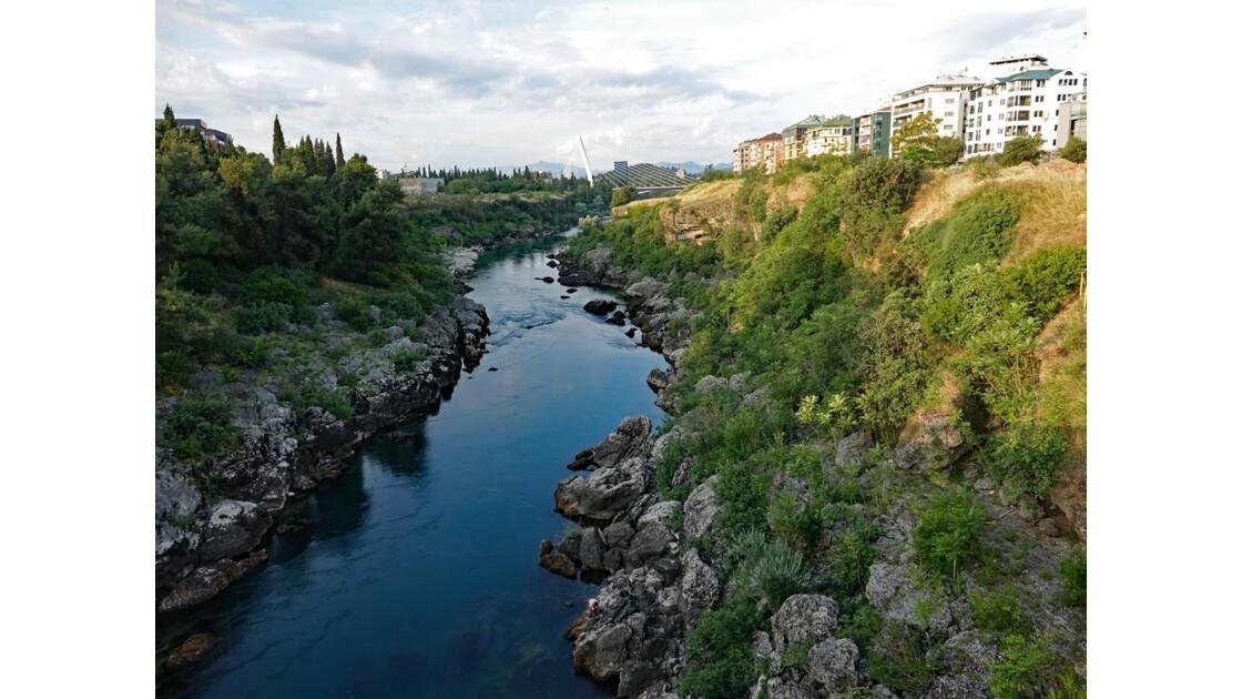 Kosovo Podgorica La rivière Moraca 2