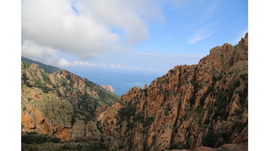 Sur les routes de Corse du Sud de Porto, Piana à Ajaccio
