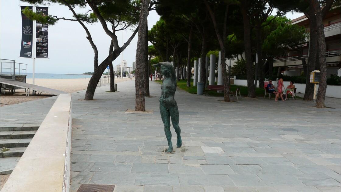 Les bronzes de Playa de Aro