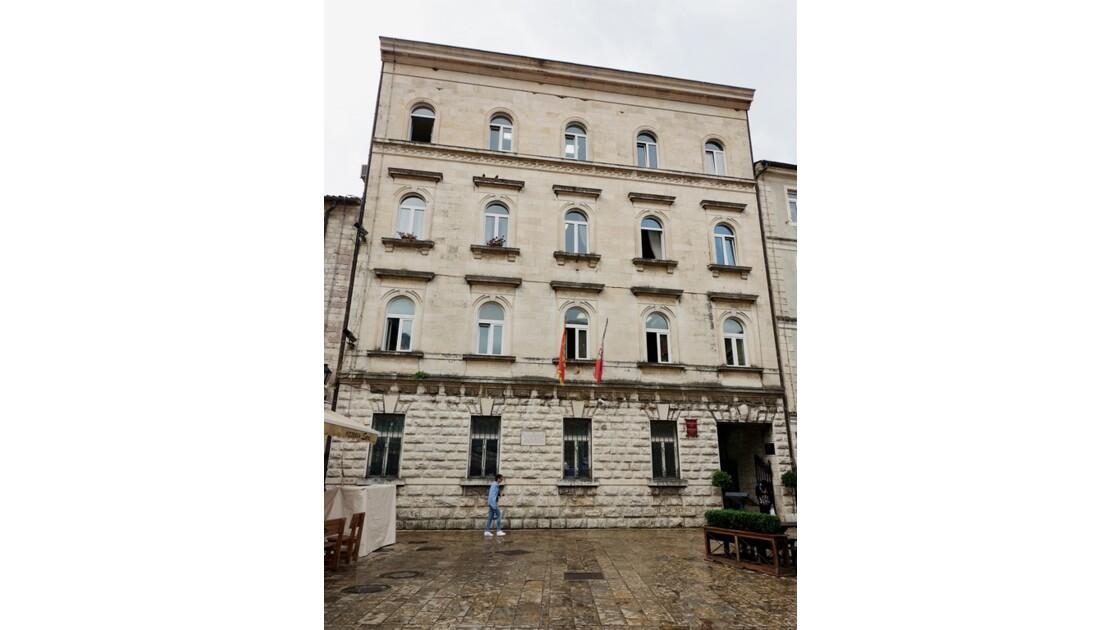 Monténégro Kotor QG austro-hongrois - actuel hôtel de ville
