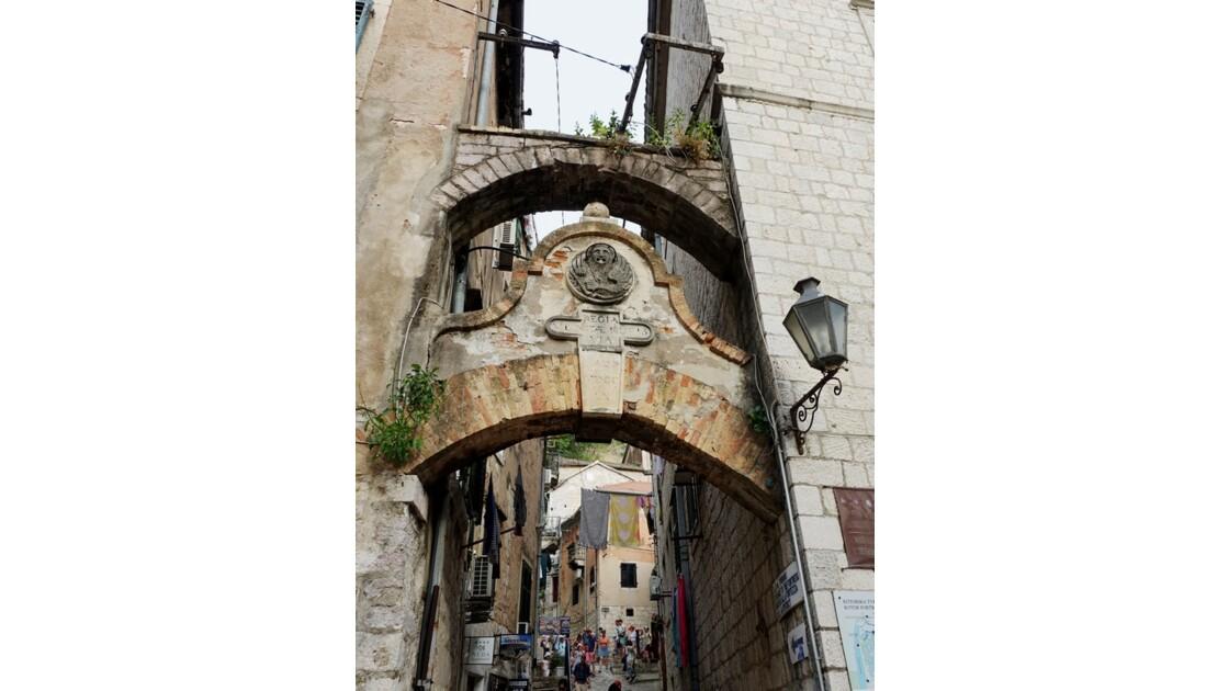 Monténégro Kotor Entrée de la Forteresse Saint-Jean 3