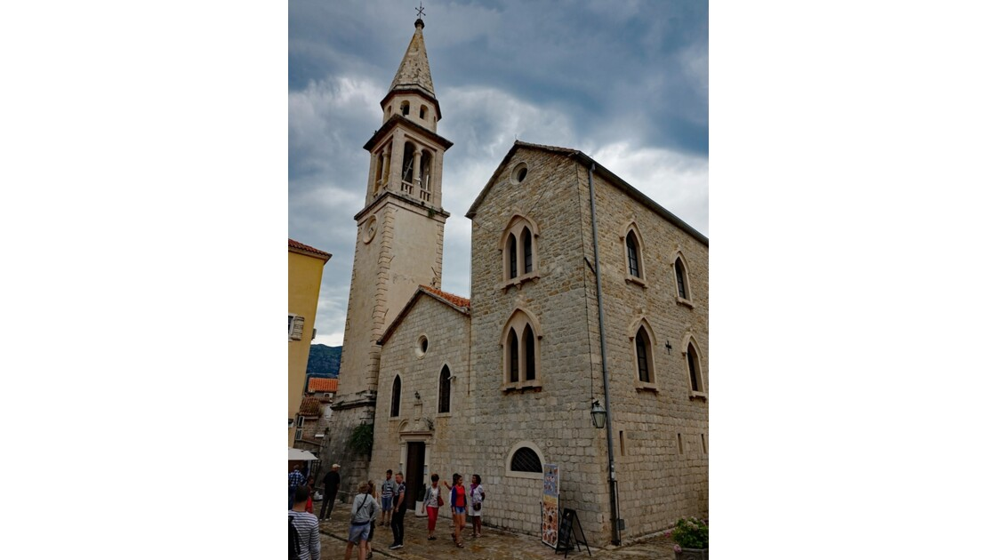 Monténégro Eglise Saint-Jean de Budva 1