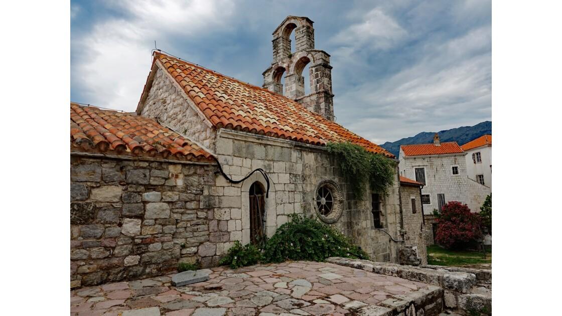 Monténégro Budva Église de la Sainte Vierge Marie 1