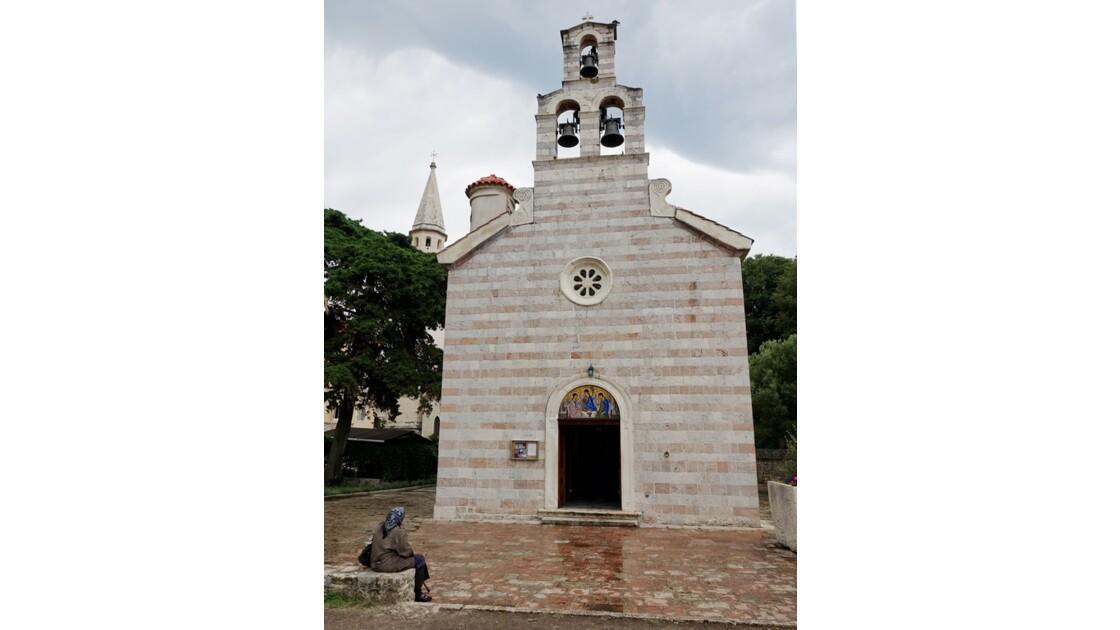 Monténégro Budva Eglise de la Sainte-Trinité 2