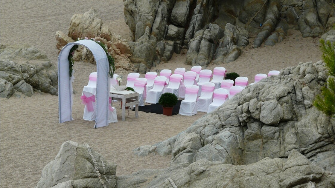 Noces roses