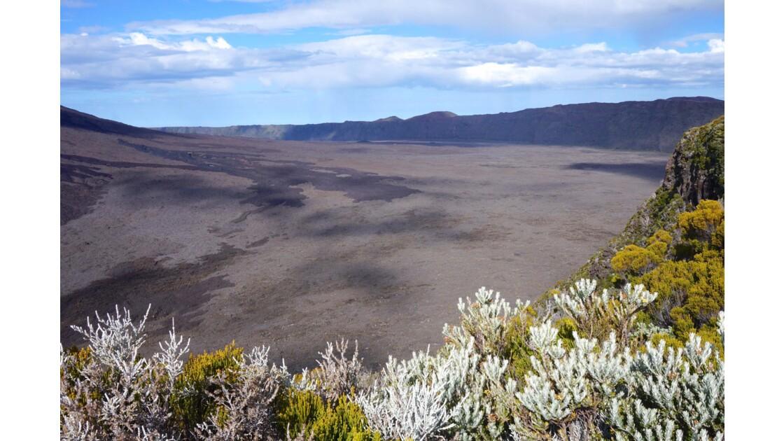 Volcan Piton de la fournaise, réunion