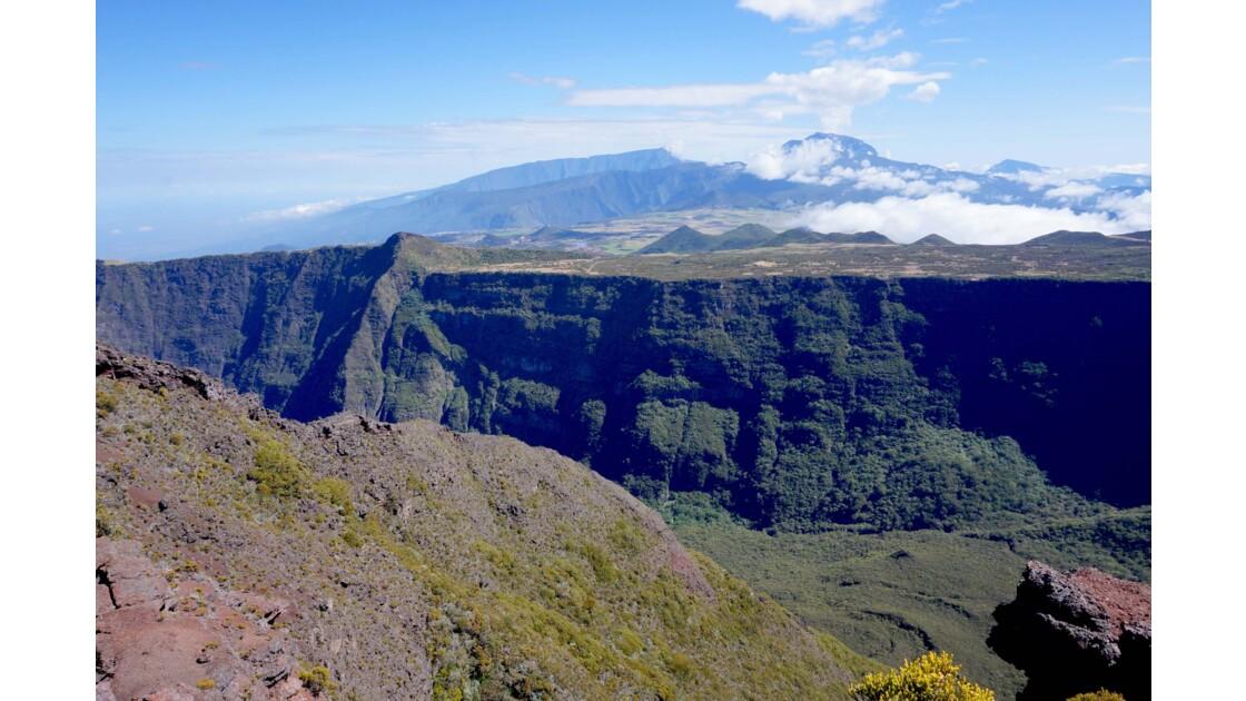 Environ du volcan, Piton de la fournaise, réunion