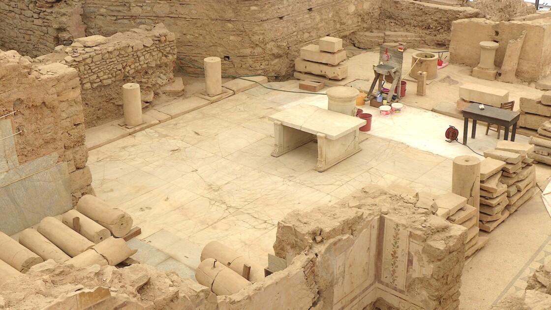 Chantier de romain