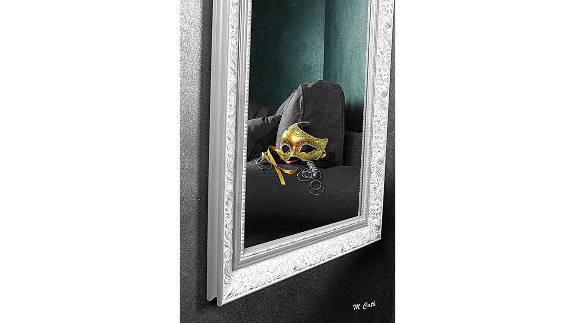 Reflet d'un miroir