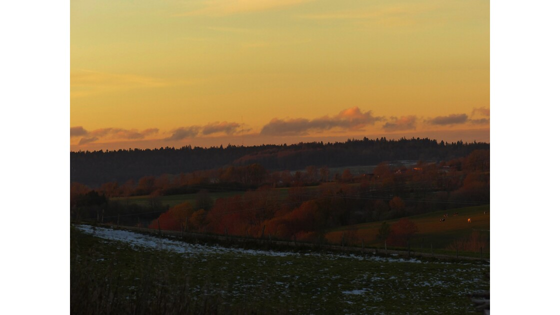 Jura, automne