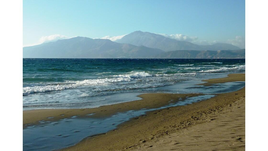 Crète - Plage de Kalamaki